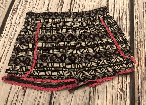 3-4 Years Aztec Shorts