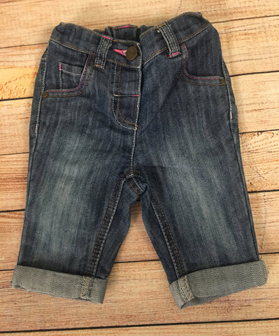 6-9 Months Cropped Jeans