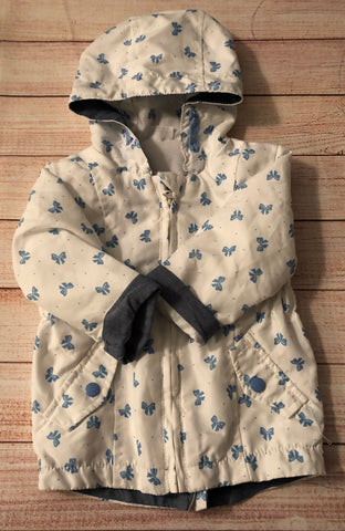 3-6 Months Lightweight Bows Coat