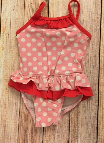 6-9 Months Spotty Swimsuit