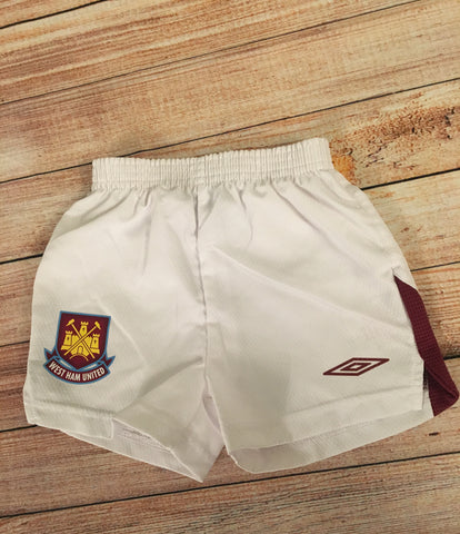 6-12 Months West Ham Shorts