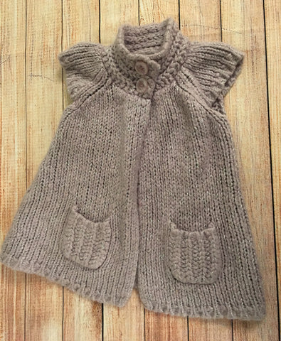 2-3 Years Chunky Knit Cardigan