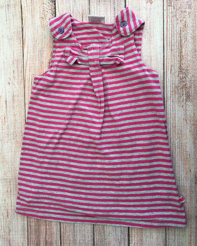 3-6 Months Striped Pinafore dress