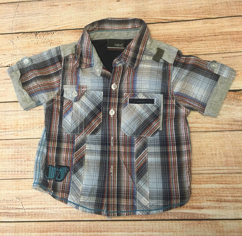 3-6 Months Checked Shirt