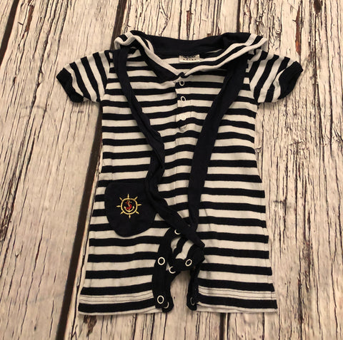 0-3 Months Nautical Rompers