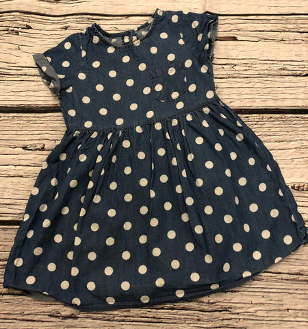 18-24 Months denim look tunic dress