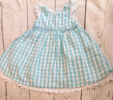 6-12 Months Lined Party Dress