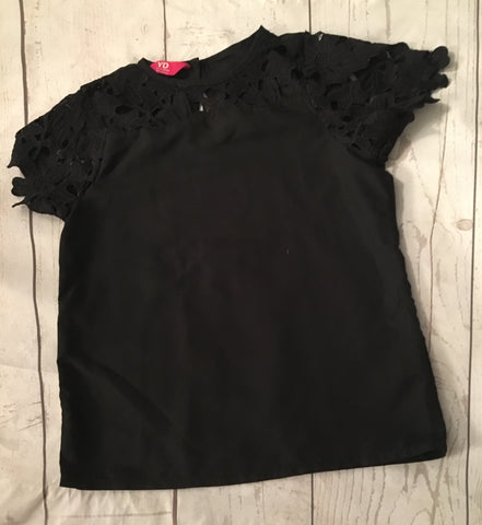 7-8 Years Scallop Sleeve Top
