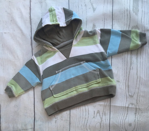 First Size Striped Hoodie