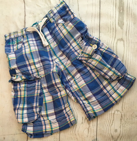 Age 10 Checked Shorts