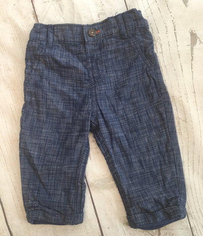3-6 Months Lined Tencil Trousers Unworn