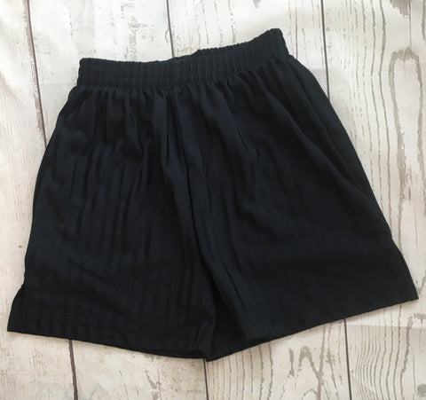 Age 5 Black School Shorts