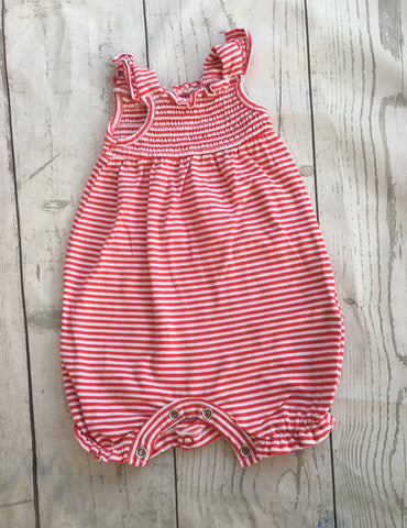 New Baby Striped Romper Suit