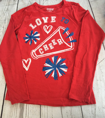 Age 10 Love Cheer  Top