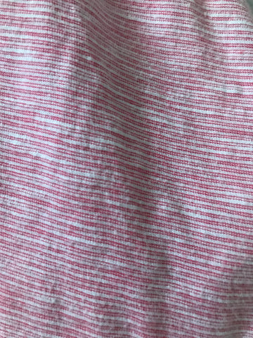 6-9 months pink striped Next Dress