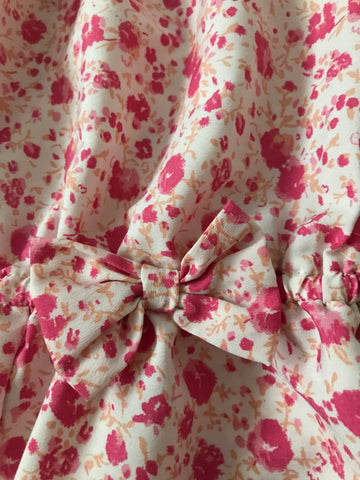 Age 5 Pink Next Floral Playsuit