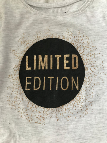Age 8-9 long Sleeve Limited Edition Top