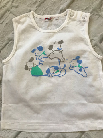 12-18 Month White Top