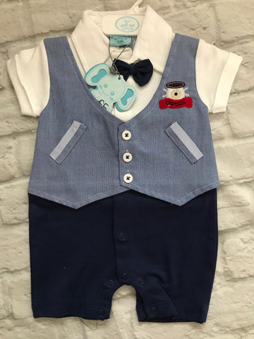 NEW 0-3 month playsuit