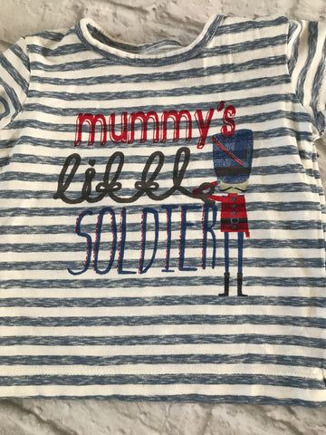 Age 3-6 Months striped Tshirt