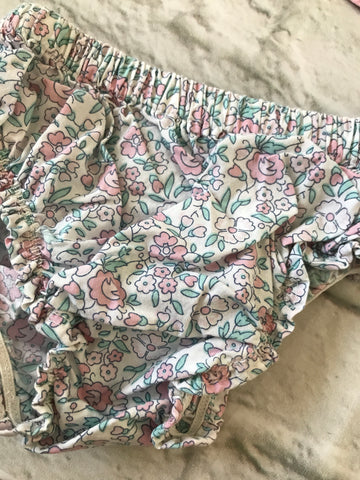3-6 Month Floral Nappy Covers