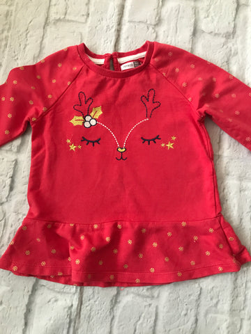 18-24 Month Long Sleeve Christmas Top
