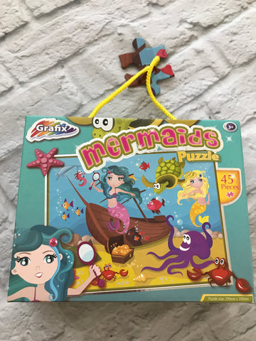 NEW. mermaids puzzle