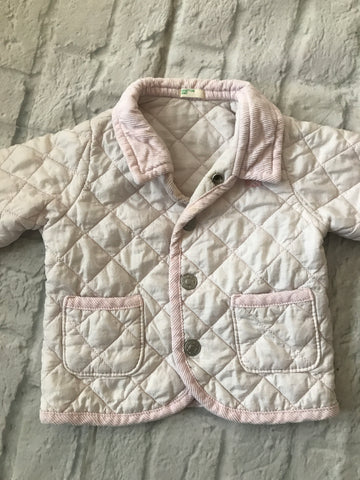 3-6 month Pink Benetton Jacket