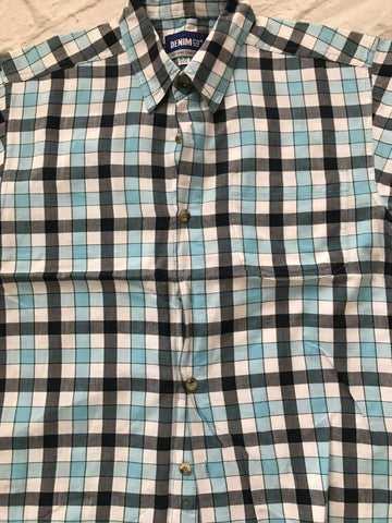 Age 9-10 Checked Short Sleeve Shirt