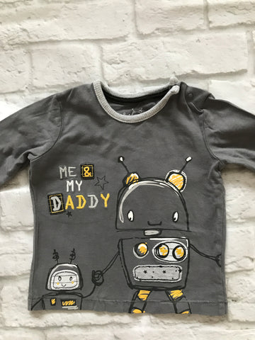 3-6 Months Boys Long Sleeve Top