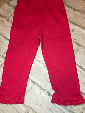 9-12 months Red Jeggings
