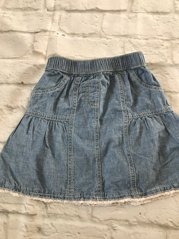 Age 18-24 Months Denim skirt