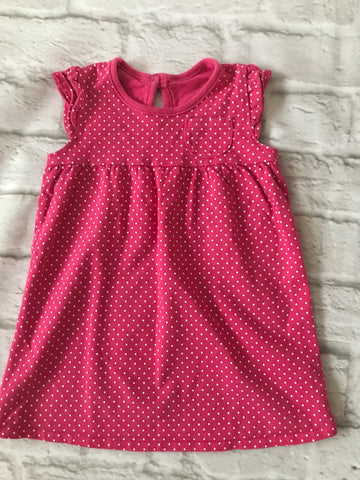 6-9 Months Girls Pink Dress