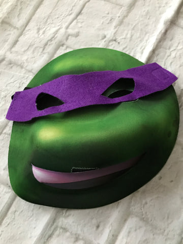 Full Face Purple Ninja Mask