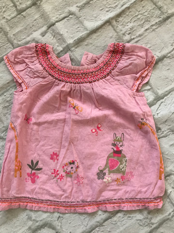 6-9 Month Pink Top