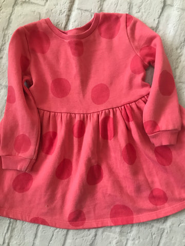 18-24 Month Pink Sweater Dress