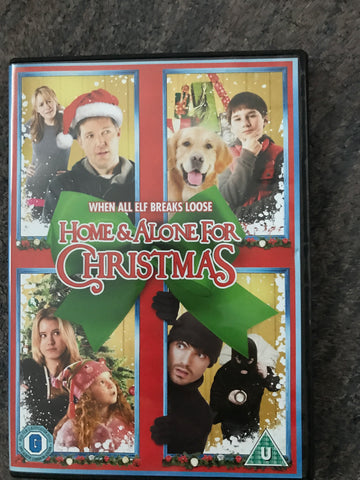 Home Alone For Christmas when all Elf Breaks Loose DVD