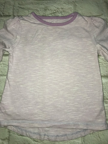 12-18 Months Long Sleeve lilac top