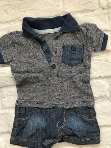 First Size Shortie Romper