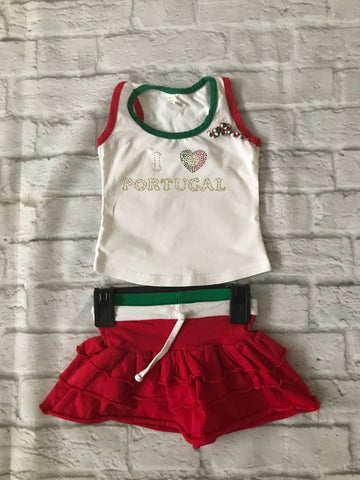 12 Months Portugal Girls Outfit