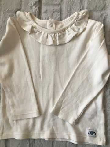 18-24 Month Cream Long Sleeve Top