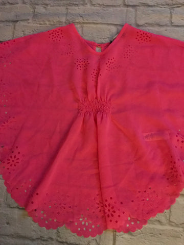 Age 4-5 Pink Fluro Beach Cover Up