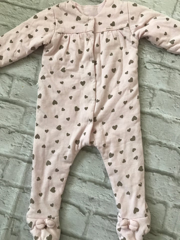 Copy of Age 6 months Pink Velour Coat