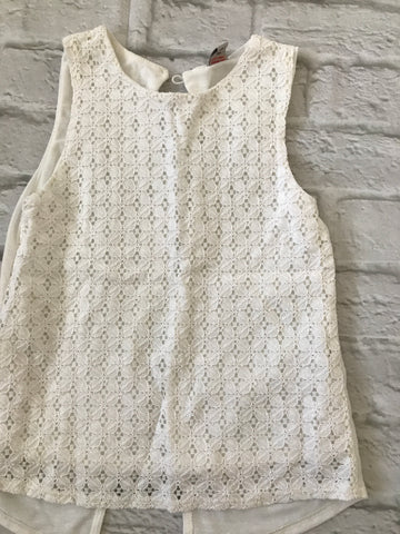 Age 6 White Summer Top