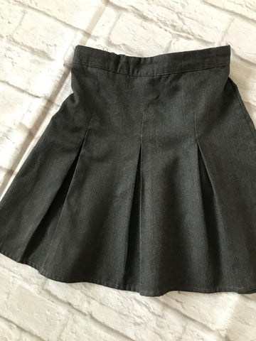 Age 5-6 Grey School Skirt