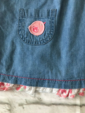 6-9 month Denim Look dress