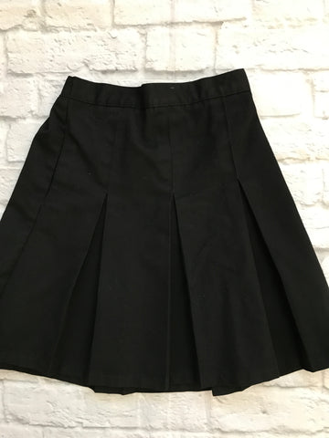 Age 8-9 Black Girls M&S School skirt