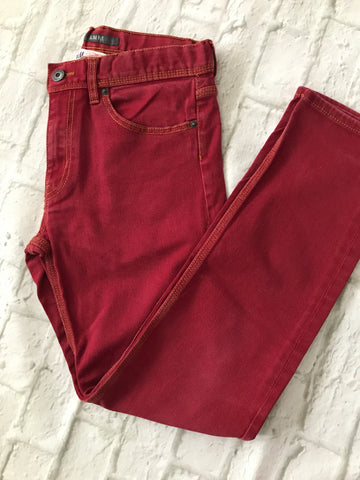 Age 12-13 H&M Red Slim Fit Jeans