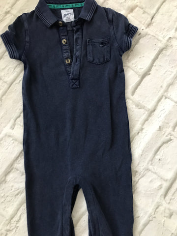 12-18 Month Mantaray Navy Romper