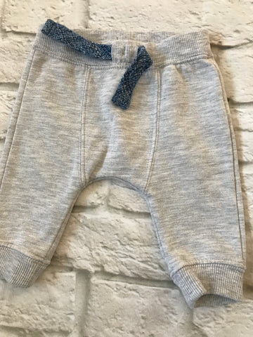 0-3 months Grey Joggers